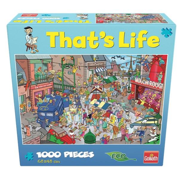 Goliath - That's Life - Puzzle - Paris (1000pcs) (71389)