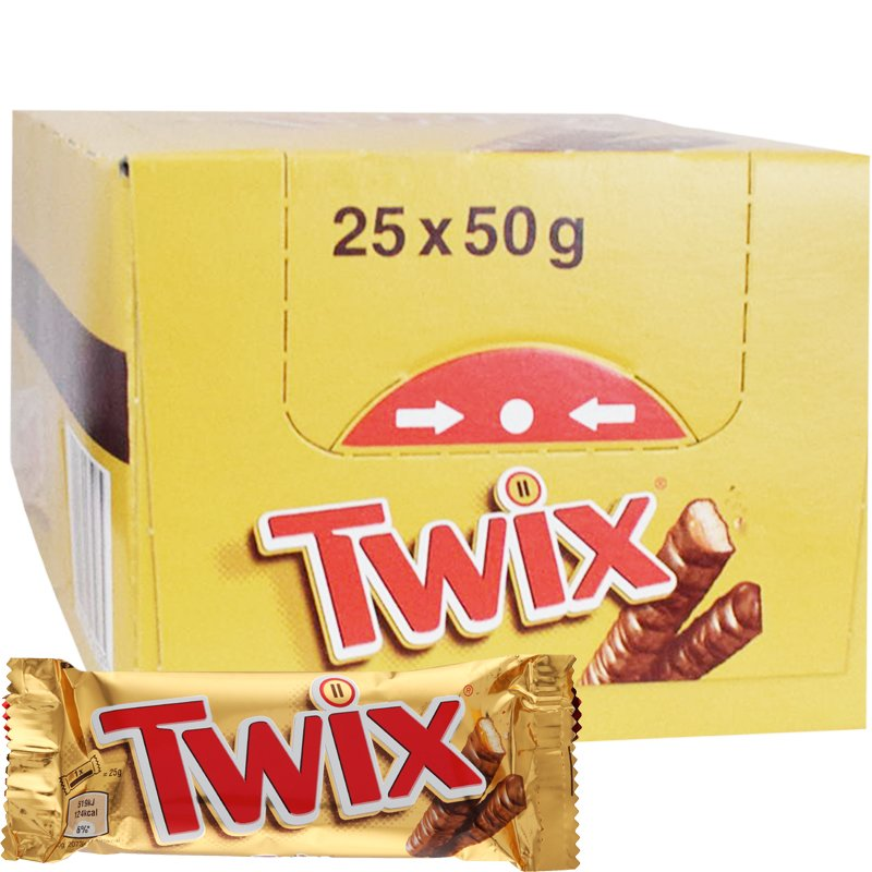 Twix 25-pack - 34% rabatt