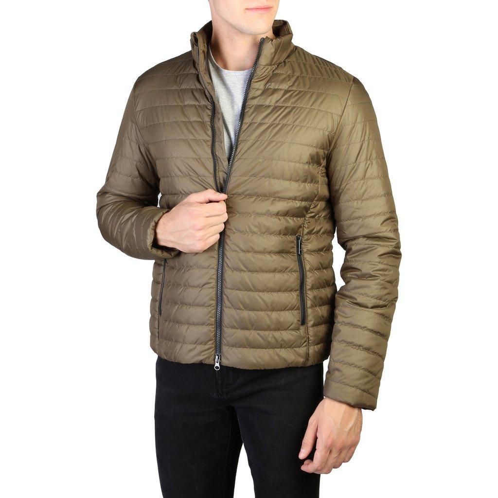 Geox Men's Jacket Brown M0223HT2606 - brown 50