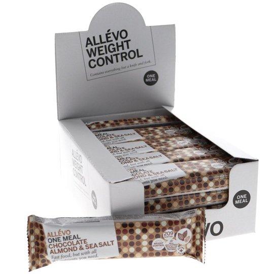 Måltidsersättning Bars Choklad, Mandlar & Havssalt 20-pack - 38% rabatt