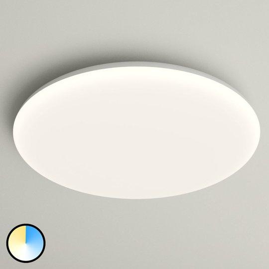 LED-kattovalo Azra, valkoinen, pyöreä IP54 Ø 40 cm
