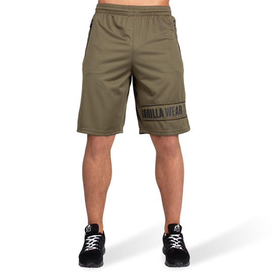 Branson Shorts, Army Green/Black