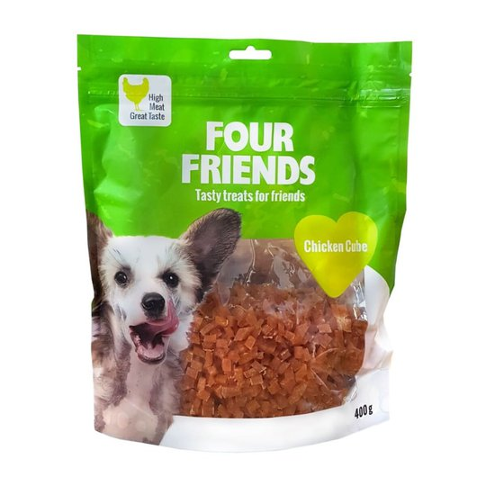 FourFriends Dog Chicken Cube 400 g