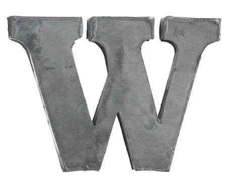Bokstav W 5,5 cm - Sink