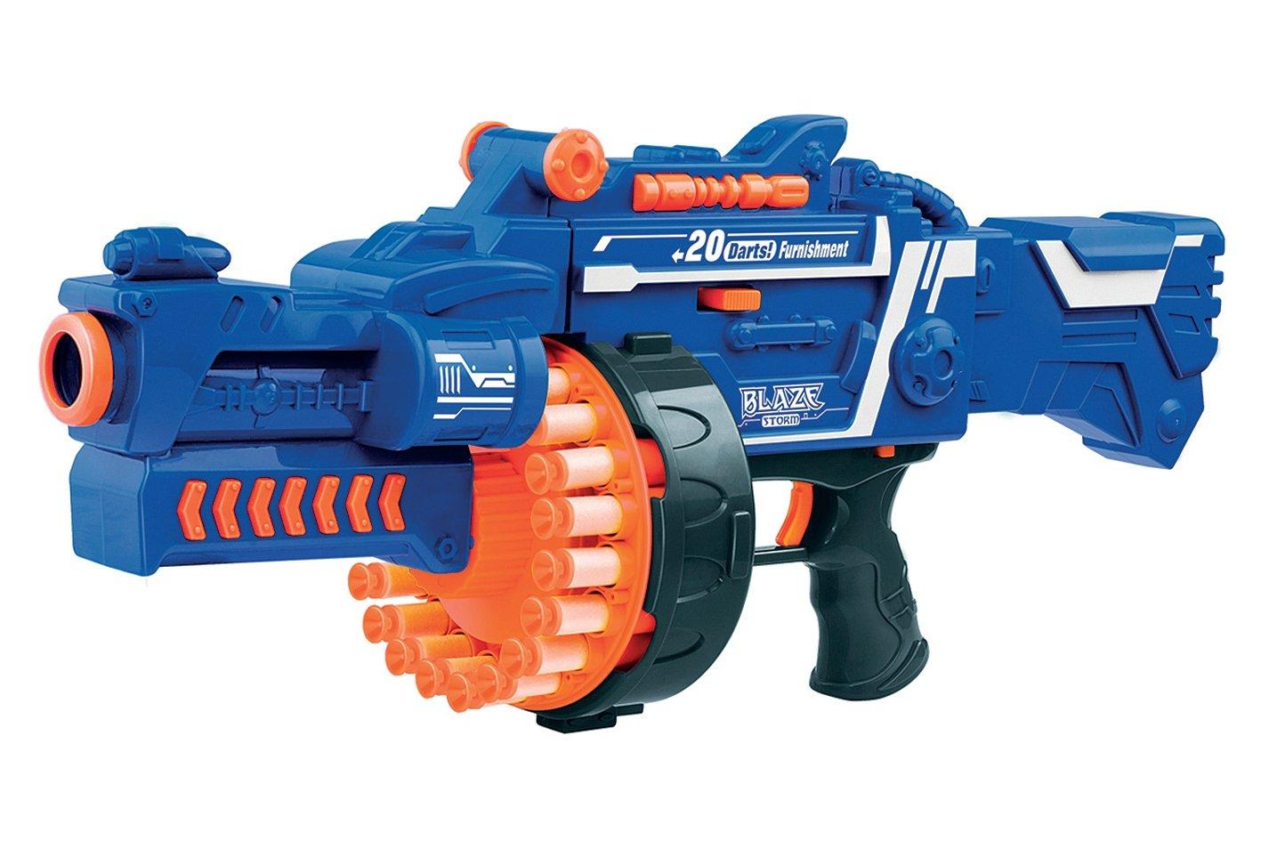 Soft Bullet Machine Gun - Inclusive 40 Darts (520303)