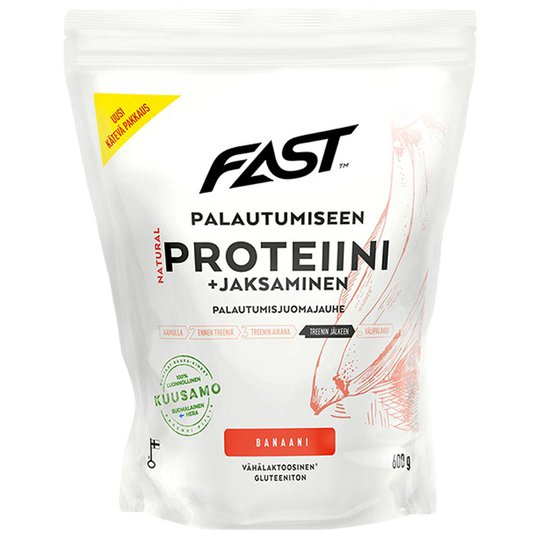 Dryckpulver Protein Banan 600g - 41% rabatt