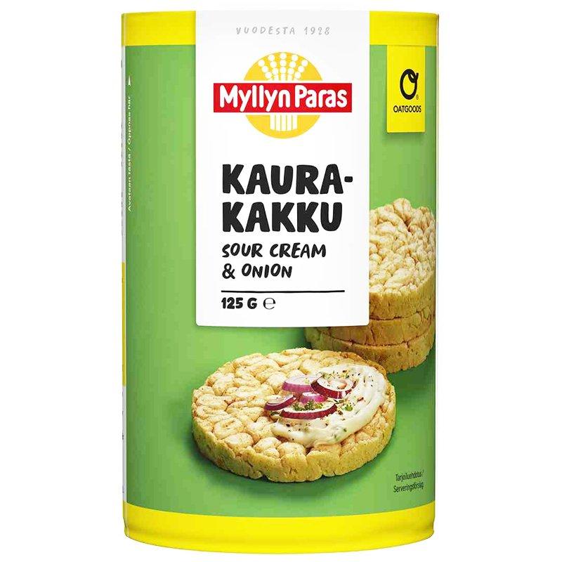 Kaurakakku Sour Cream & Onion - 30% alennus
