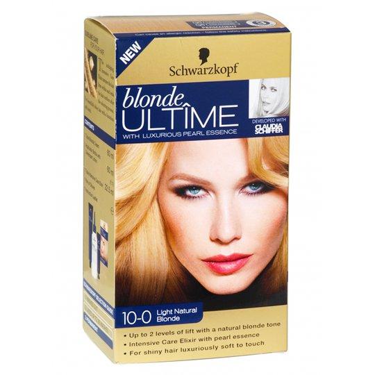 """Hårfärg Blondering """"10-0 Light Natural Blonde"""" - 51% rabatt"""