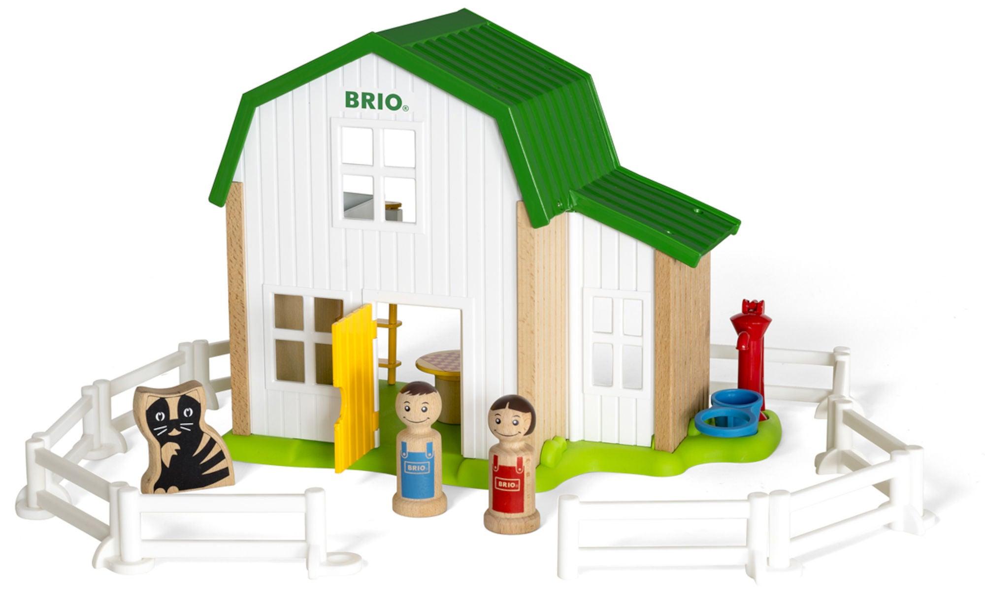 BRIO My Home Town 30313 Maatila ja Lisätarvikkeet