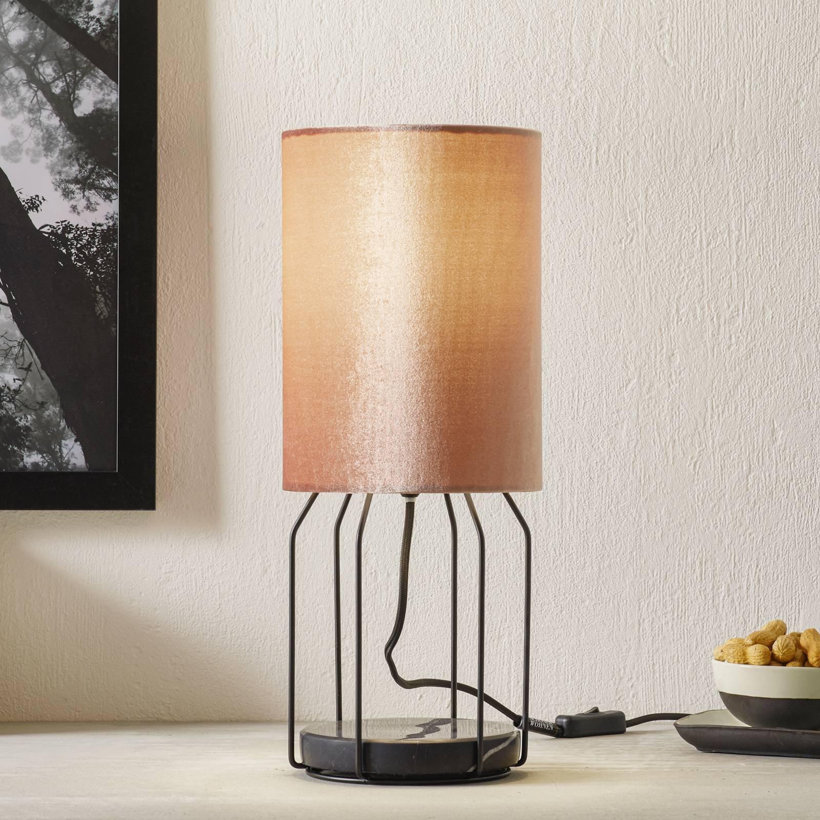 Schöner Wohnen Grace bordlampe, rosé