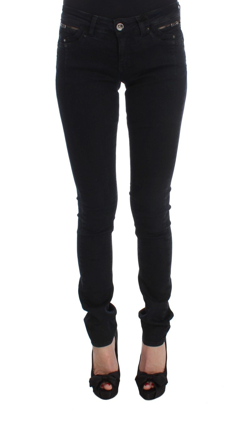 Costume National Women's Cotton Slim Fit Denim Jeans Black SIG30115 - W26