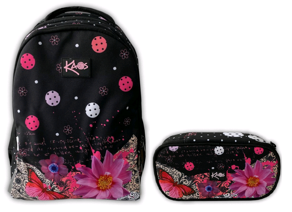 KAOS - Backpack 2-in-1 (36L) + Pencil Case - Layla