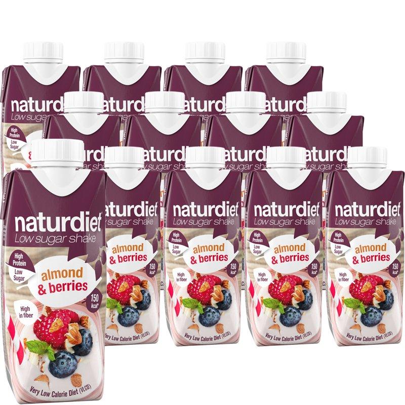 Ruokavalionkorvike Almond & Berries 12kpl - 41% alennus