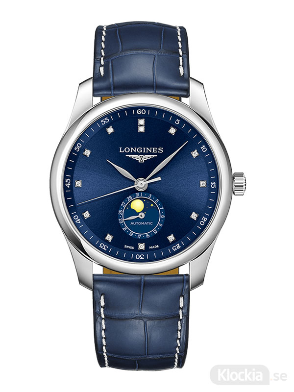 LONGINES Master Collection Moon Phase Diamonds 40mm L2.909.4.97.0