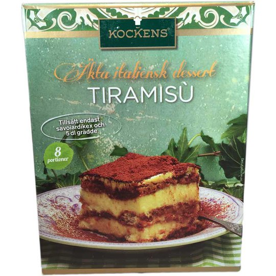 Dessertmix Tiramisu - 80% rabatt