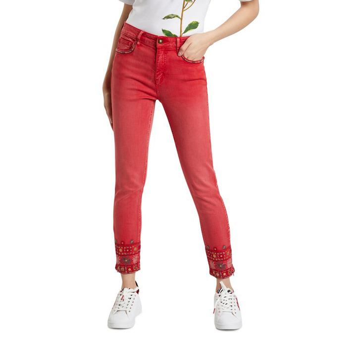 Desigual Women's Trouser Red 319814 - red 36