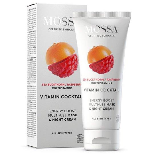 Mossa Vitamin Cocktail Energy Boost Multi-Use Mask, 60 ml
