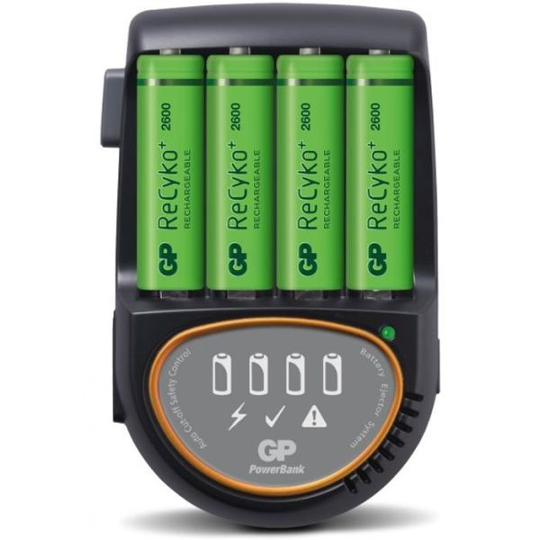 GP Batteries ReCyko H500 Batterilader