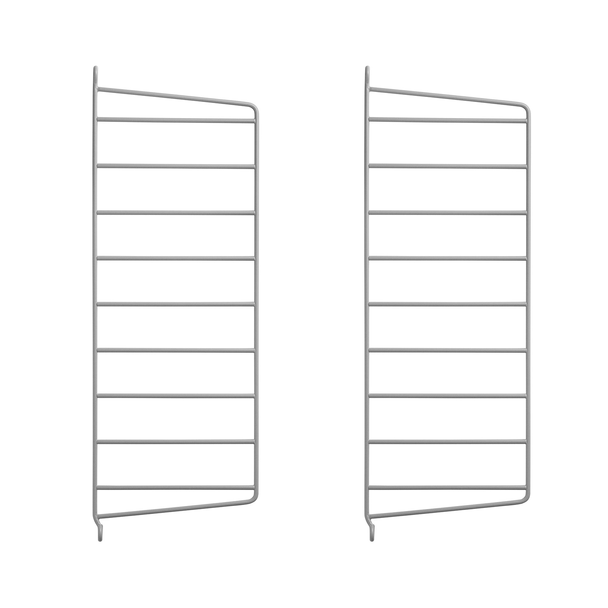 String Väggavel 50x20 2-p grå