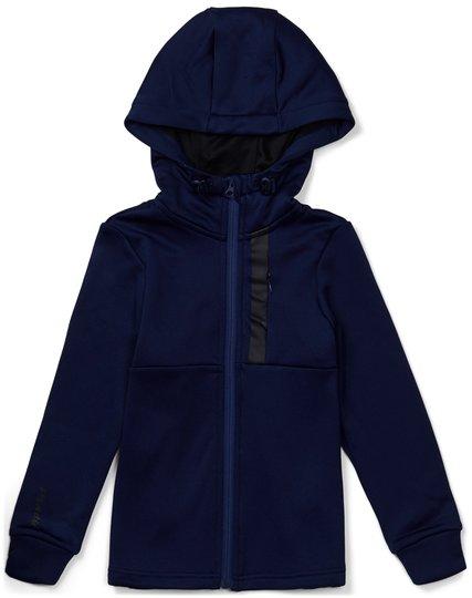 Hyperfied Scuba Zipped Hoodie, Medieval Blue 86-92