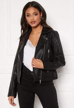 JDY Ilde Faux Leather jacket Black 34