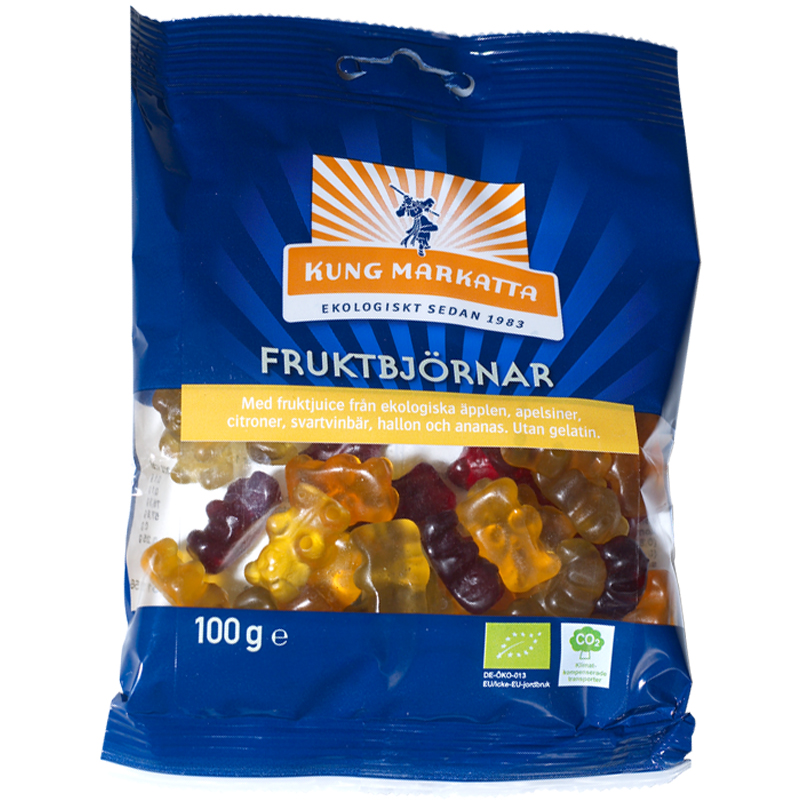 Eko Godis Fruktbjörnar - 50% rabatt
