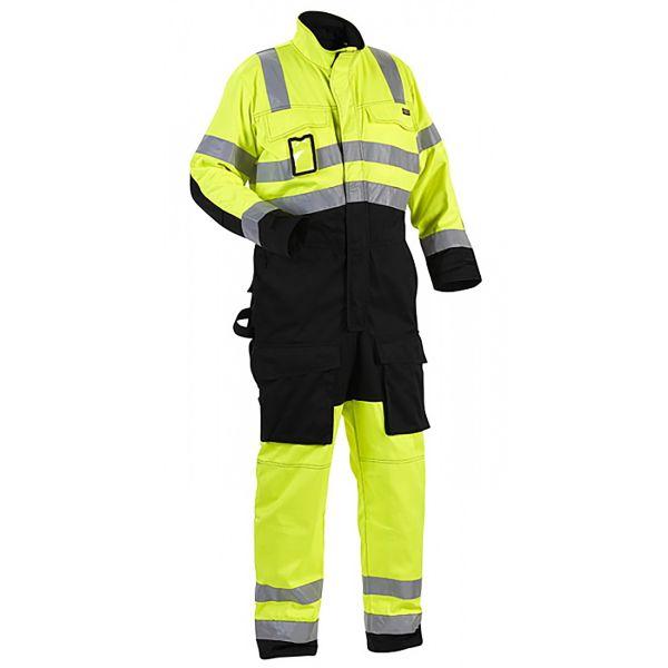 Blåkläder 637318043399C48 Jacka stickad, dam, gråmelerad/svart Stl XL