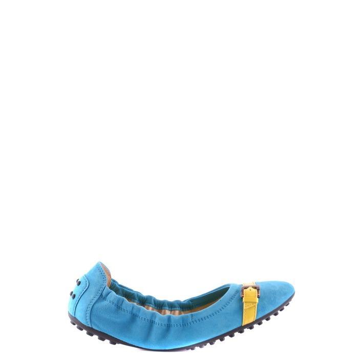 Tod`s Women's Pump Shoe Blue 164263 - blue 35.5