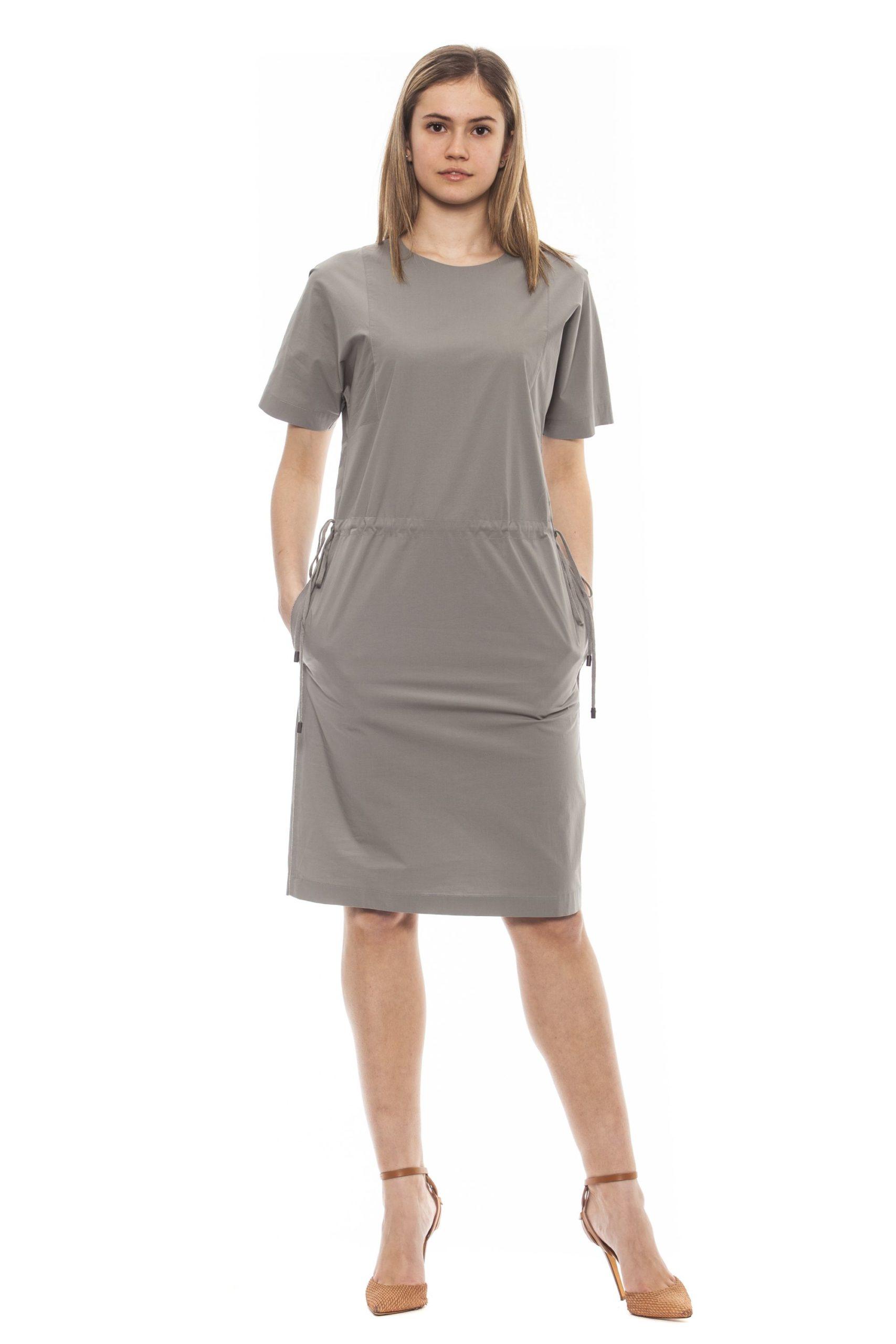 Peserico Women's Verde Dress Green PE1381610 - IT42 | S