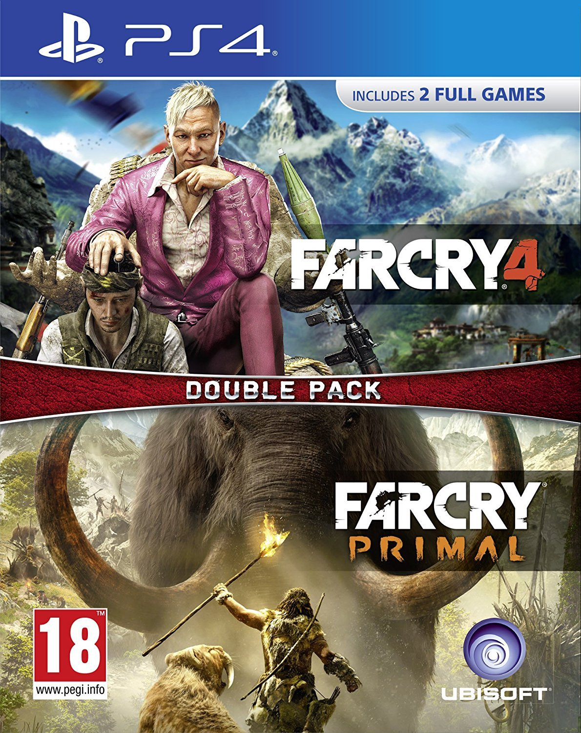 Far Cry Primal / Far Cry 4 - Double Pack