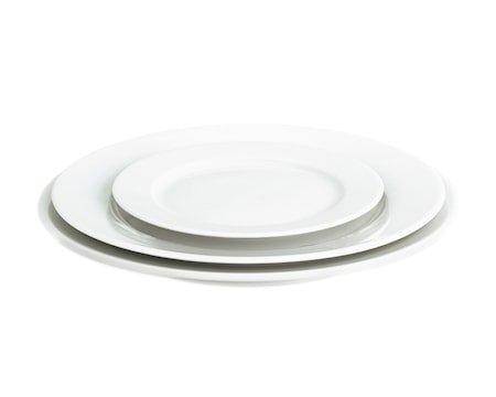 Sancerre tallerken flat hvit, Ø 24 cm