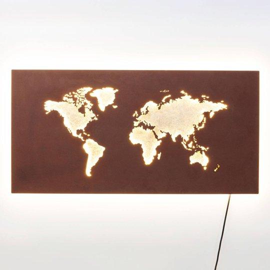 KARE Map -LED-seinävalaisin, johto ja pistoke