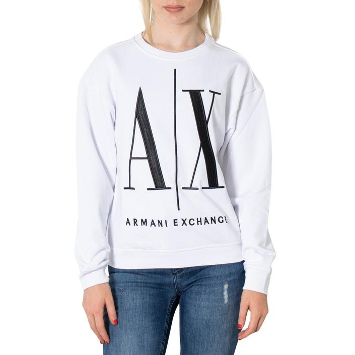 Armani Exchange Women's Sweatshirt Various Colours 272259 - white XS