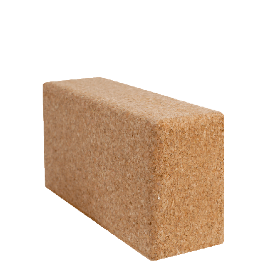 Yoga block 23 x 12 x 7,5 cm, Cork