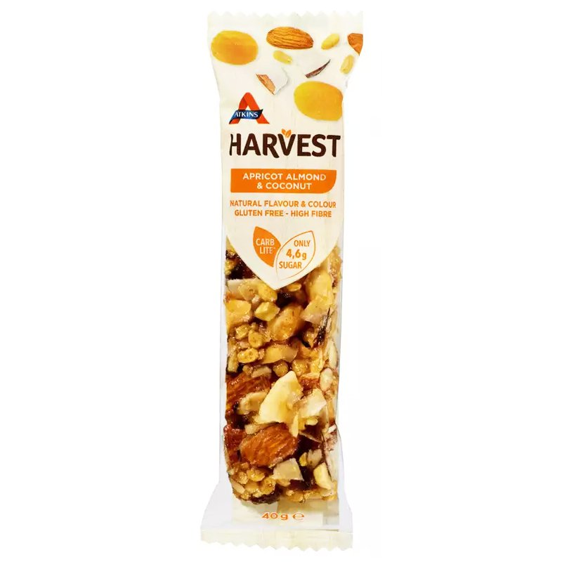 "Pähkinäpatukka ""Apricot, Almon & Coconut"" 40g - 30% alennus"