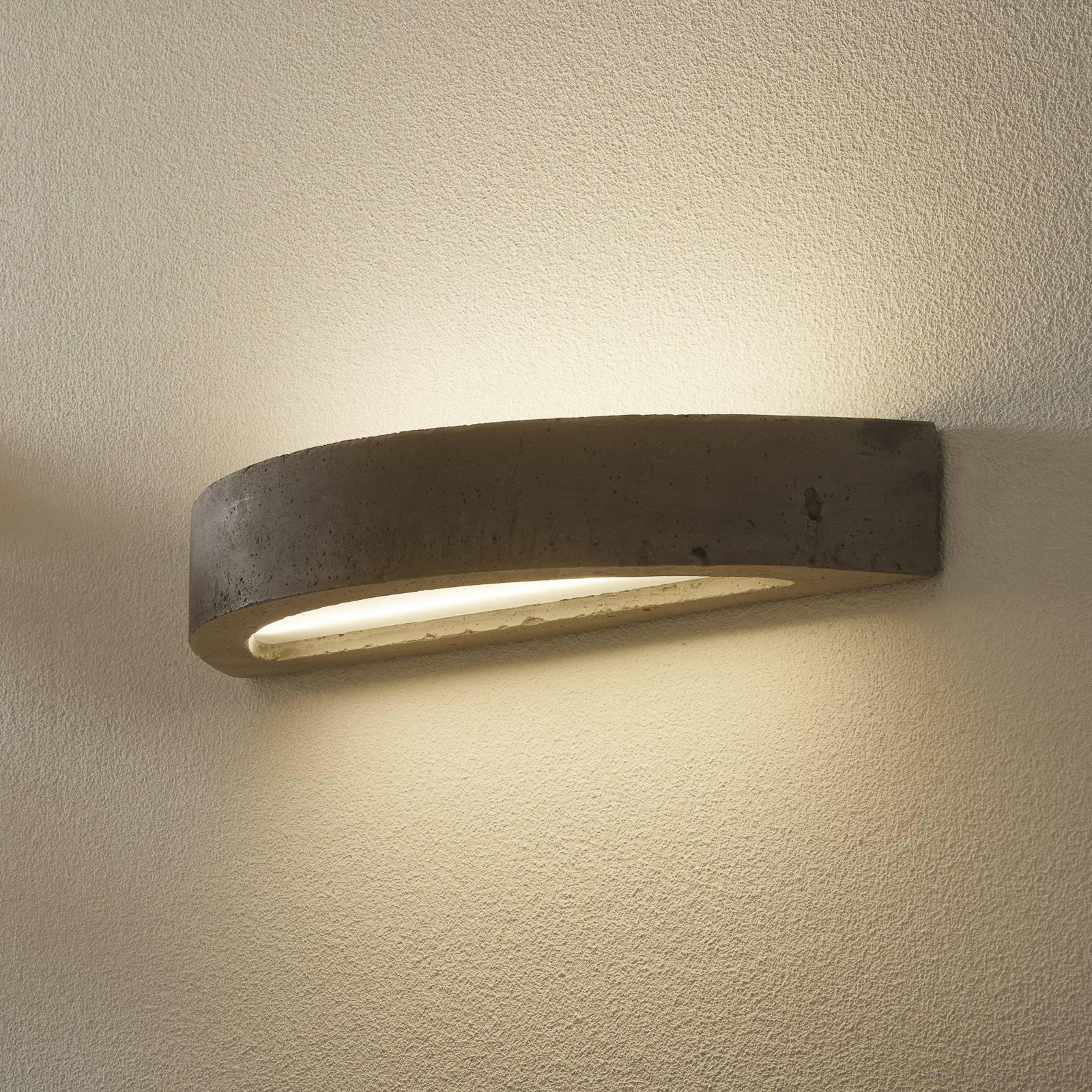 LED-seinävalo 2455 betoni, 3 000 K, himmennettävä
