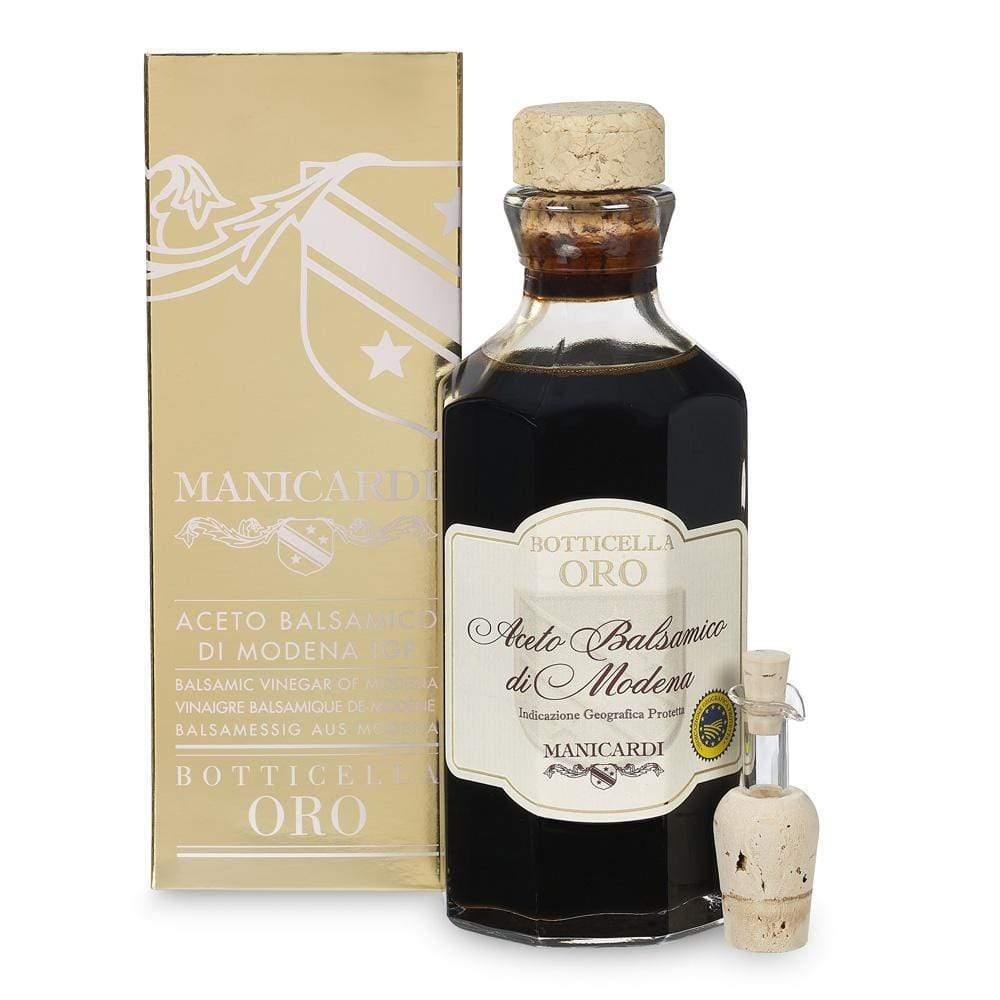 Balsamic Vinegar of Modena Gold Cask 250ml by Manicardi