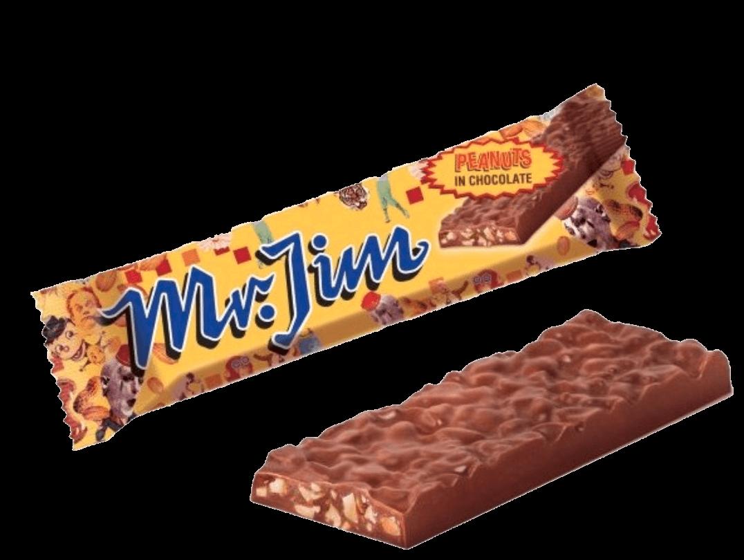 Mr. Jim Peanuts in Chocolate 40g