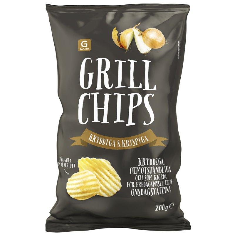 Chips Grill 200g - 69% rabatt