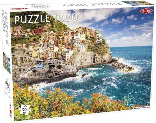 Tactic Puslespill Cinque Terre 1000 brikker