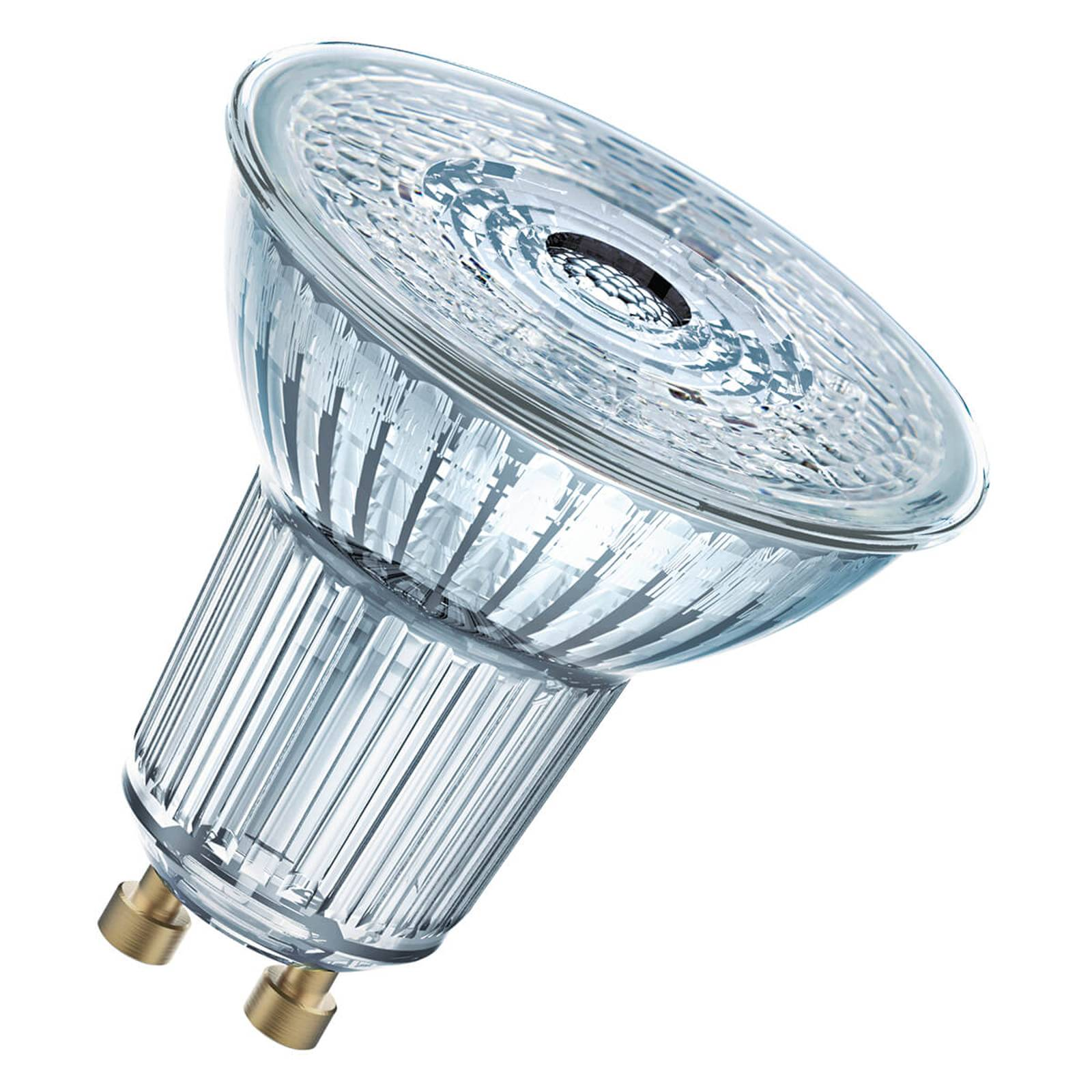 OSRAM-LED-heljastin GU10 6,5W, perusvalkoinen 36°