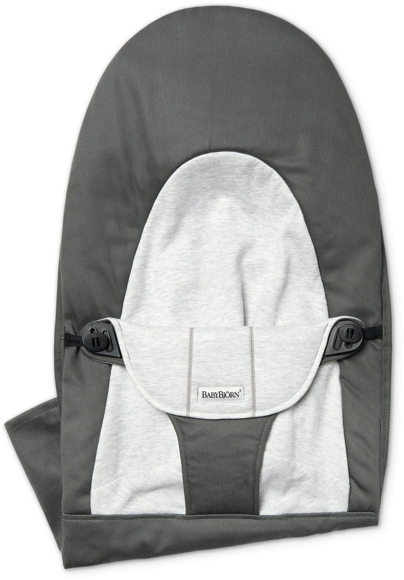 BabyBjörn Balance Soft Tygsits Cotton/Jersey, Mörkgrå/Grå