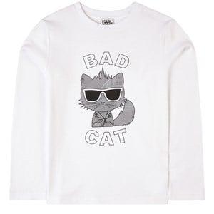 Karl Lagerfeld Kids Logo Tröja Vit 5 år