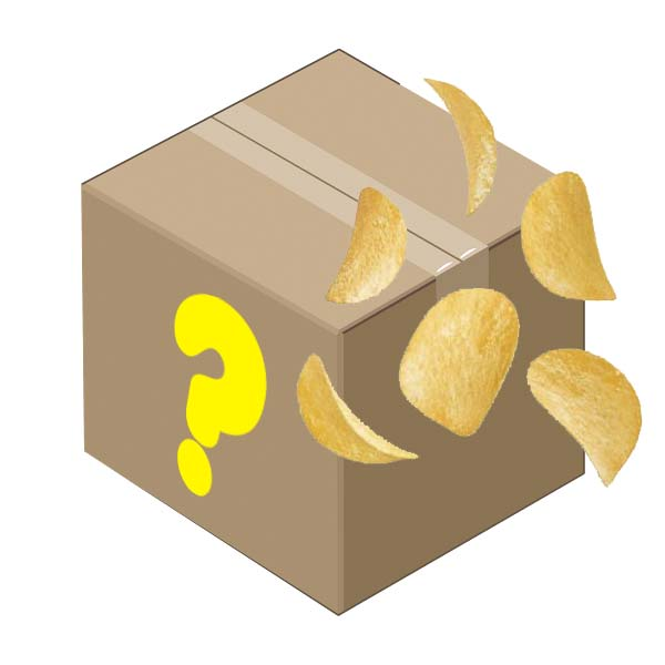 Hemliga Ät snart-lådan Snacks