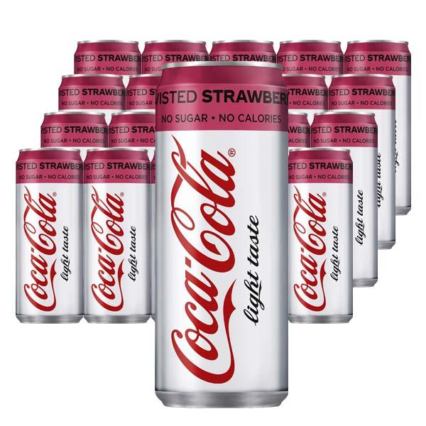Coca-Cola Light Strawberry 33cl x 20 st