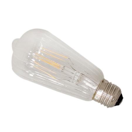 Glödlampa STRIPE LED dimbar E27 Ø6cm