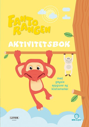 Fantorangen Aktivitetsbok Med Klistremerker