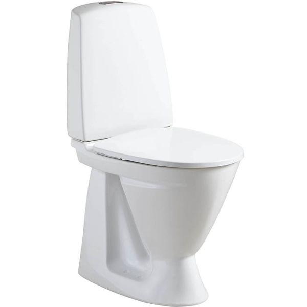 Ifö Sign 686106517 Toalettstol med mykt sete, enkeltspyling
