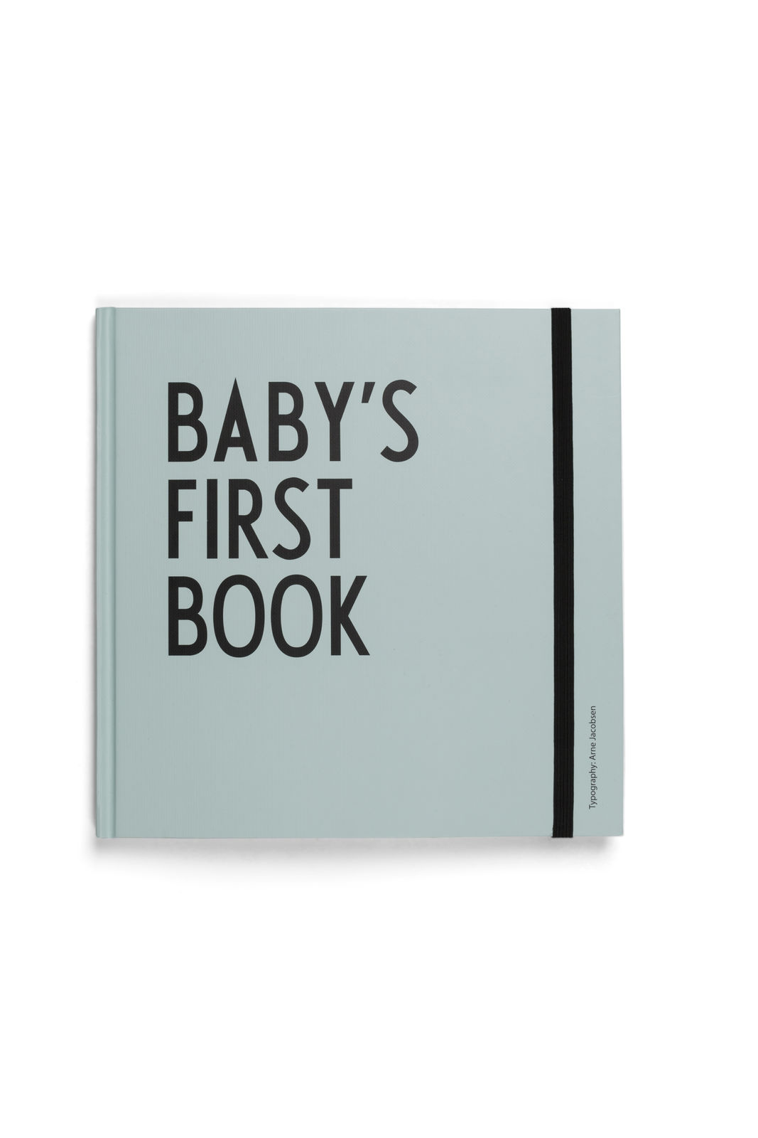 Design Letters - Baby's First Book - Turquoise (20202400TURQUOISE)