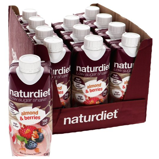 Ruokavalionkorvike Almond & Berries 12kpl - 46% alennus